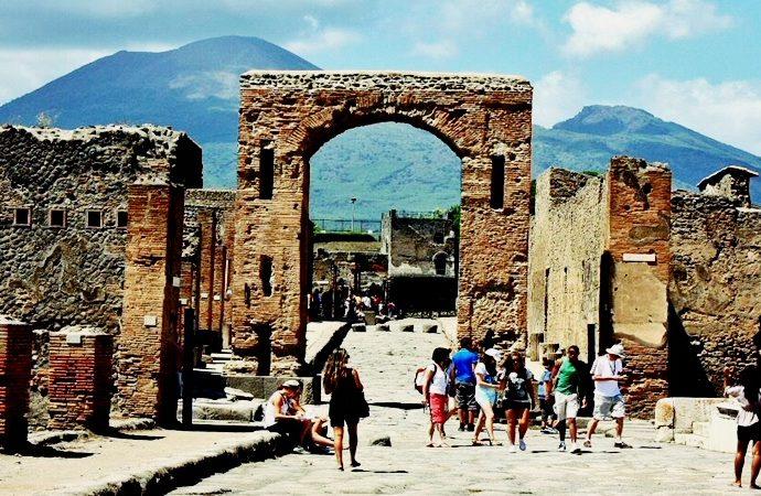 Vistazo a lo que quedó de la antigua ciudad arrasada por el Vesubio