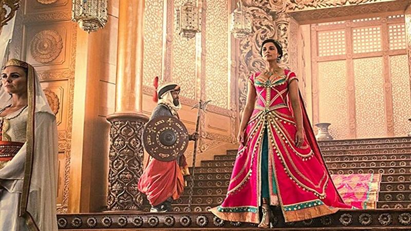 La adorada por el publico Princesa de Agrabah ciudad donde se desarrolla la historia de la pelicula