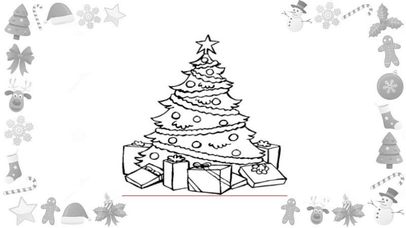 Dibujos De Navidad Para Imprimir Y Colorear Con Los Niños