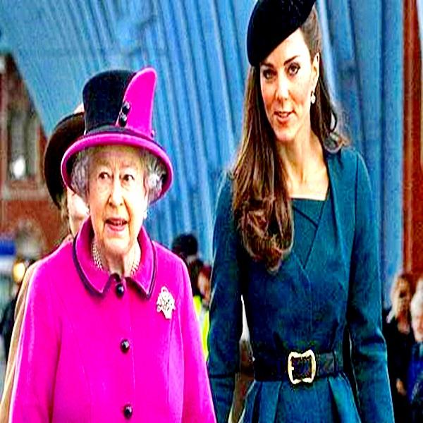 La Reina Isabel II y Kate comparte una dificultad vertiginosa
