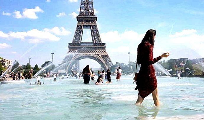 Sube la temperatura en Europa
