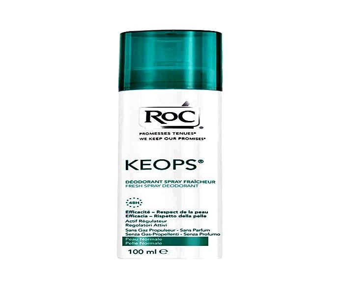 Desodorante ROC esta vez desfiló en la estantería