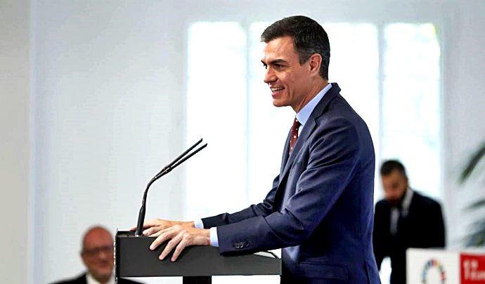 Pedro Sánchez fue tajante en cuanto a las diferencias de fondo que mantiene su gobierno con Podemos
