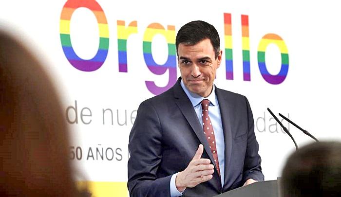 Pedro Sanchez difiere de la postura del Partido Podemos