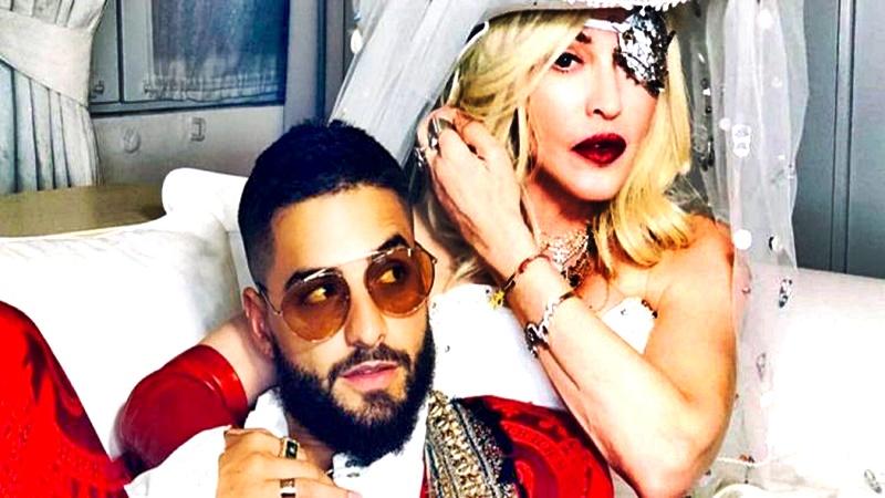 Madonna aparece en vídeo con Maluma
