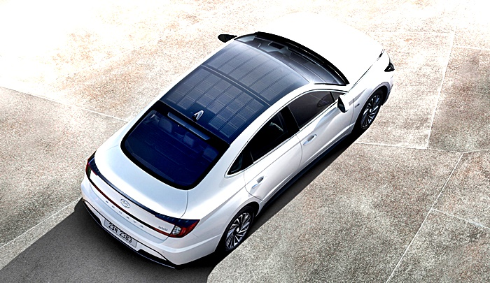Hyundai incorpora paneles en el Sonata Hybrid 2019