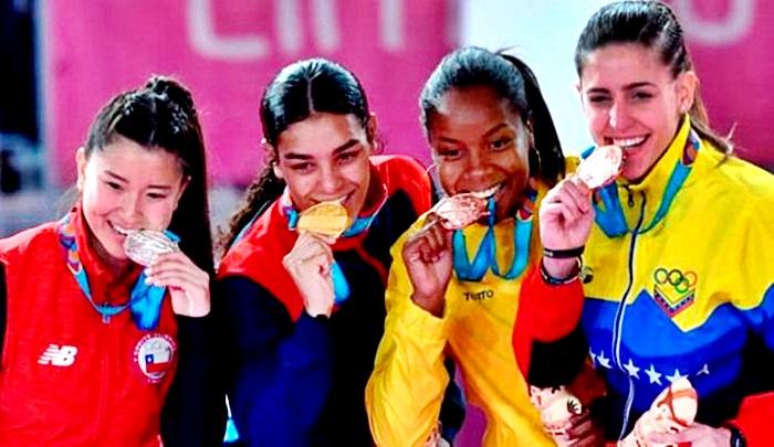 Los deportistas venezolanos regresaron con 43 medallas desde Lima 2019