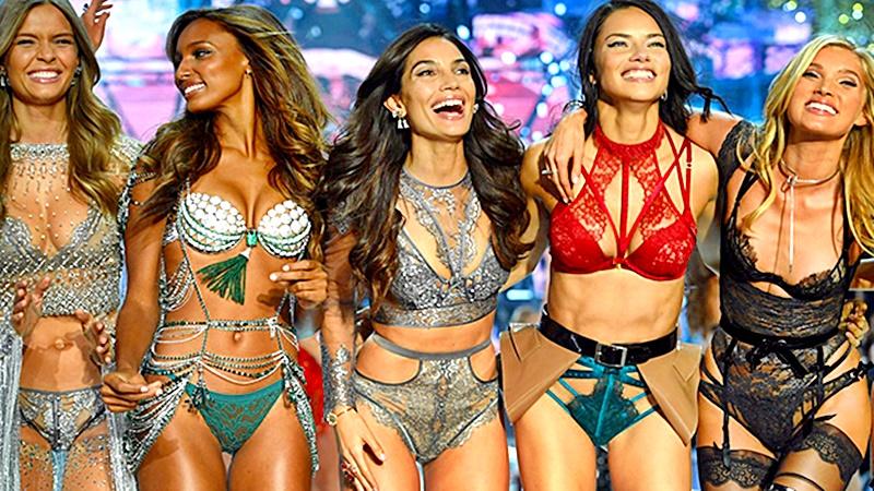 Mas que modelos parecían sex simbols que se promocionaban en un desfile
