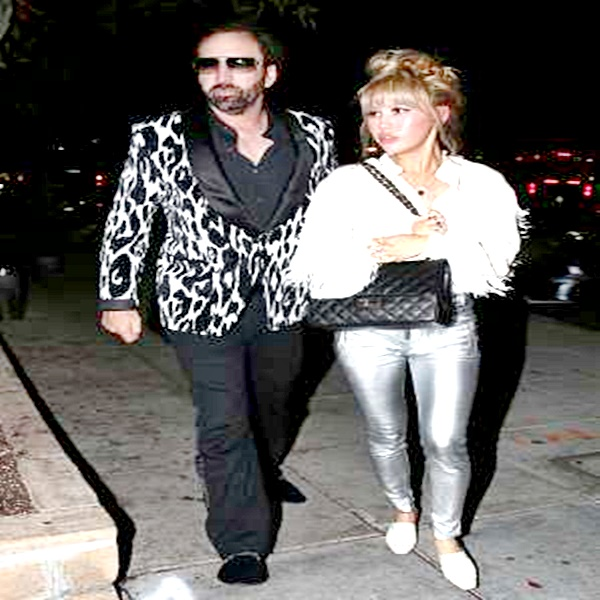 Nicolás Cage se divorcio con solo cuatro días de matrimonio