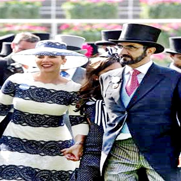 El Emir de Dubai y su esposa Haya también se separaron