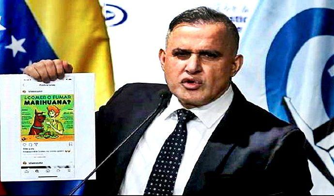Tarek William Saab informó sobre la detención de personas que vendían galletas con marihuana