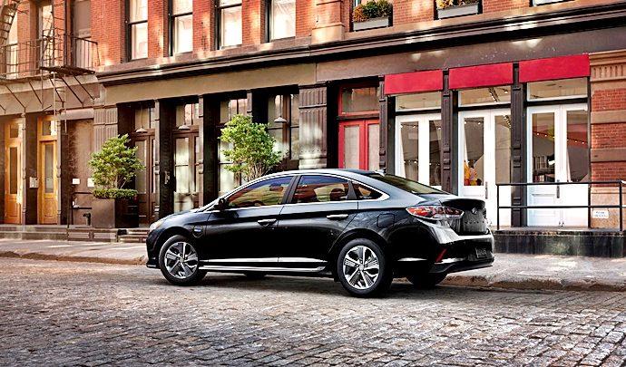 La marca de vehículo Hyundai revoluciona con paneles solares