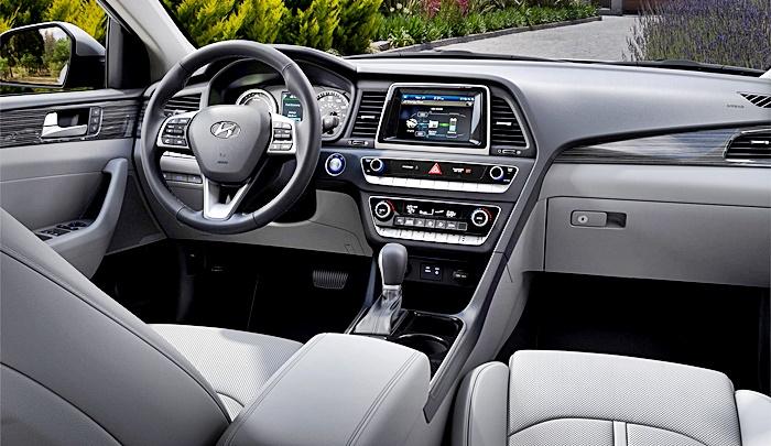 Hyundai Sonata Hybrid por dentro y por fuera este 2019