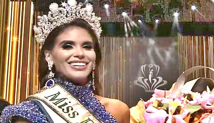 En el Miss Earth Venezuela y que hubo tramoya