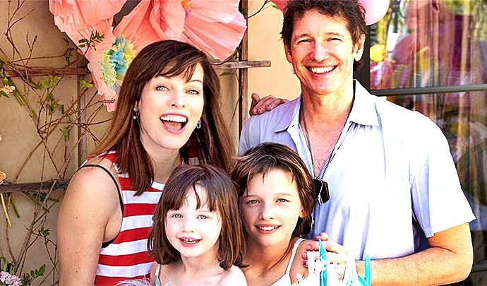 Mila Jovovich en espera de su 3er progenie
