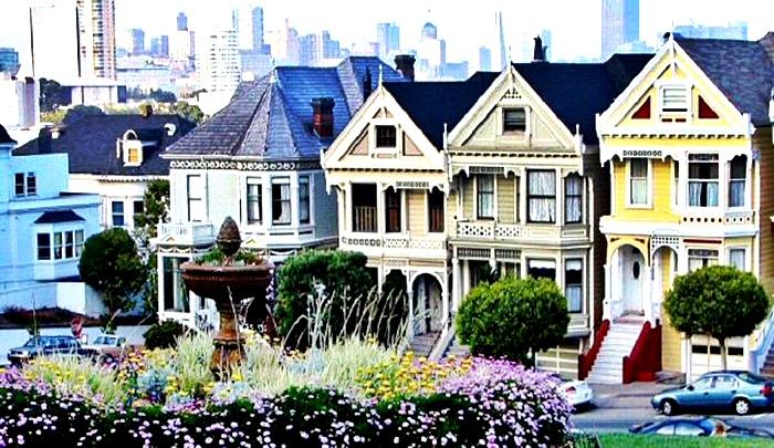 Painted Ladies conserva su estilo victoriano en San Francisco