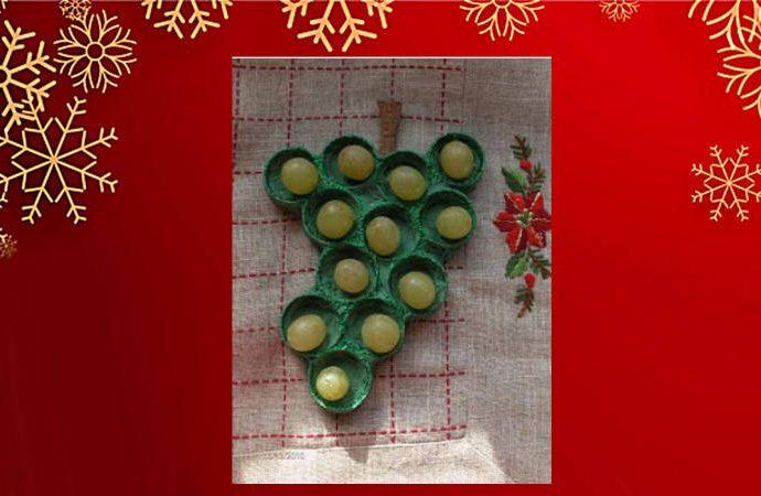 Cómo hacer la presentación de las uvas en Nochevieja