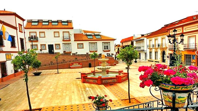 Palos de la Frontera otro pueblo costero de  Andalucía