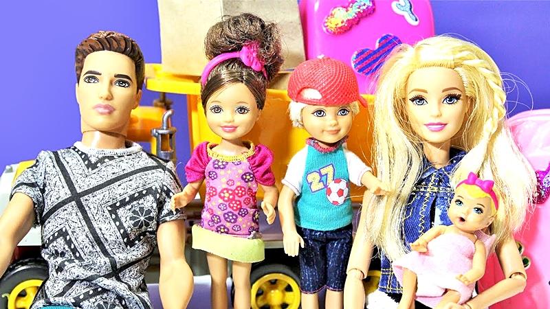 Todos los elementos que acompañaron a Barbie