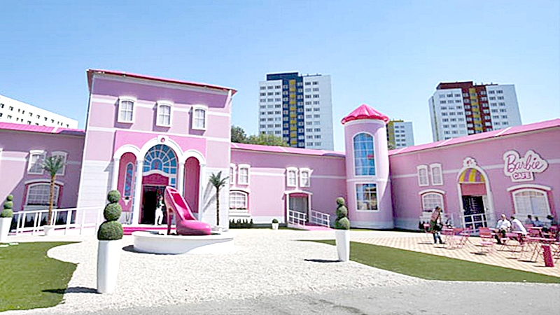 Una casa real modelo Barbie