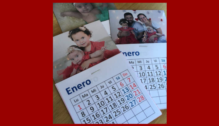 Regalos personalizados: Calendarios