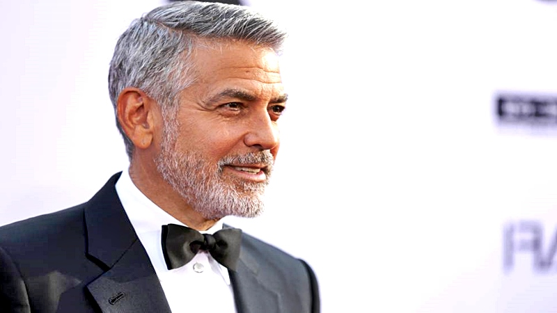 George Clooney respondió con jocosidad