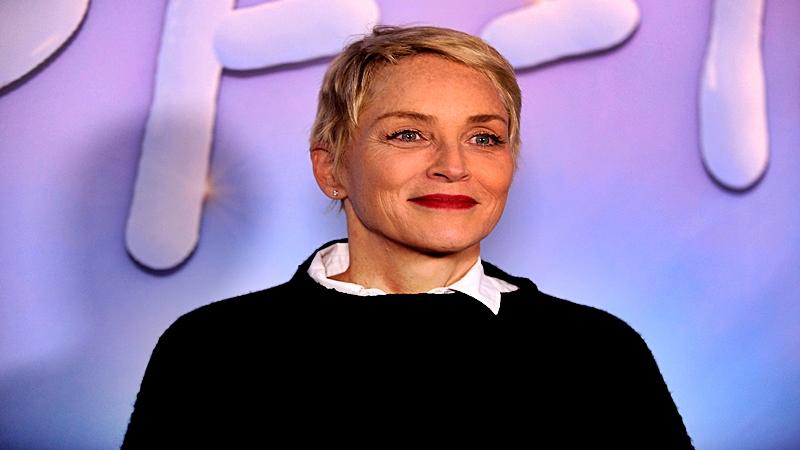 Sharon Stone se siente bien a su edad