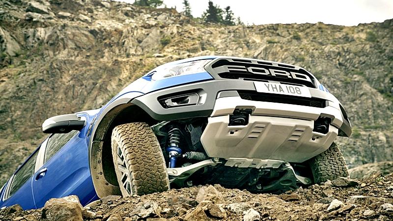 Raptor 2019 de Ford es una bestia en los caminos
