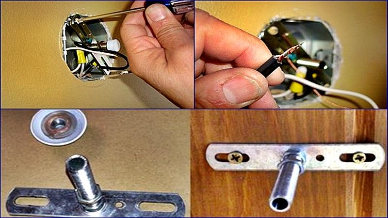 Instalar lámparas de pared es muy sencillo