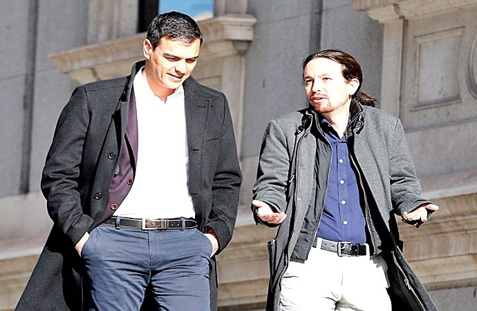 PSOE y UP no se ponen de acuerdo pero presentan documentos gemelos
