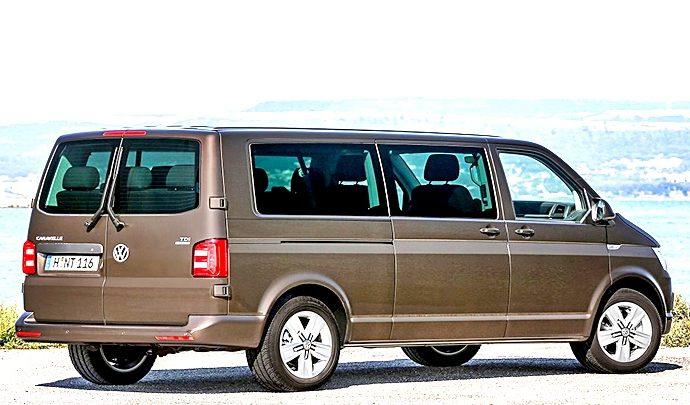 La nueva furgoneta Multivan mítica pero con toques modernos