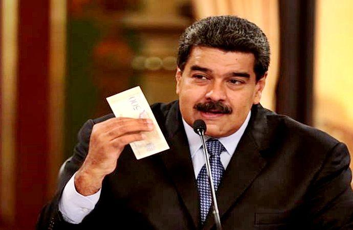 El salario venezolano ascendió a 7,6 dólares por mes