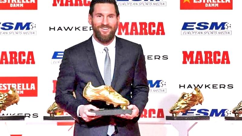 Con otra 'Bota de Oro' se alza Leo este 2019