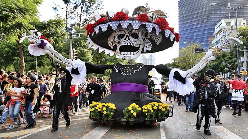 En México una cultura en honor a los difuntos