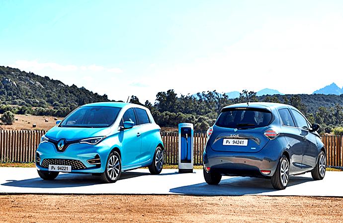 Renault ZOE 2020 un carro eléctrico, versátil y moderno