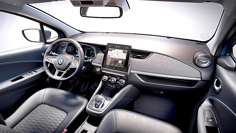 Renault ZOE 2020, un auto eléctrico y tecnológico