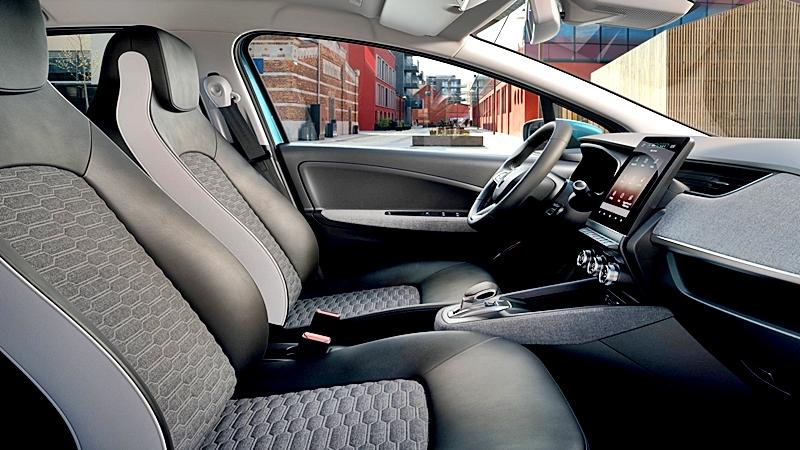 Renault ZOE 2020 brinda espacio y comodidad