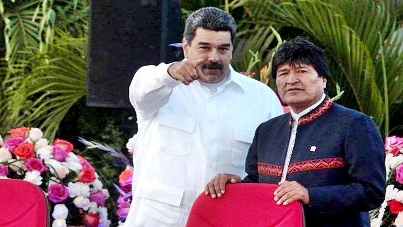 Bolivia con un vacío de poder y disturbios