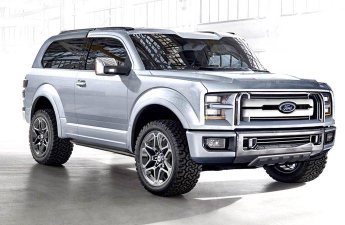 Ford hace un nuevo lanzamiento de la Bronco en re-diseño