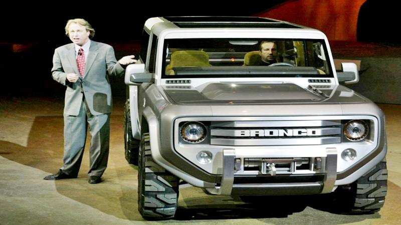 La camioneta Bronco después de 20 años descontinuada