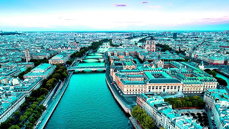 Un barrio hermoso en París