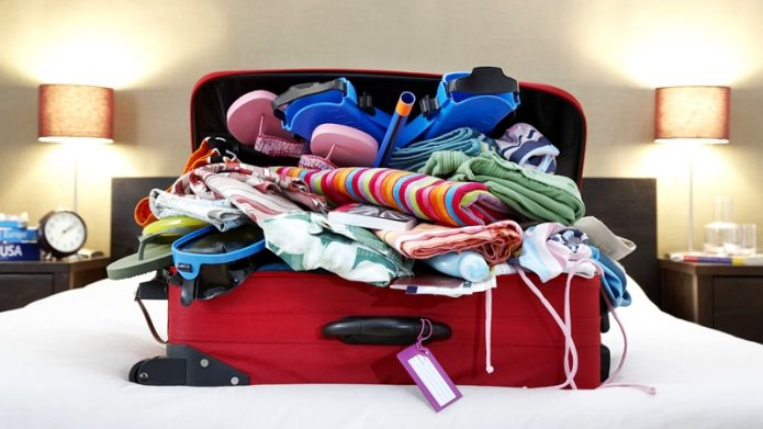 Hacer las maletas es un arte