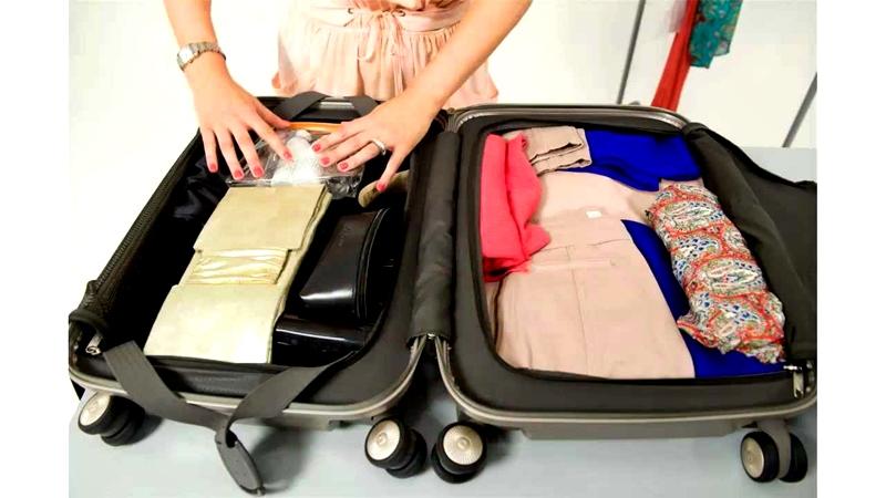 Hacer una maleta siguiendo consejos