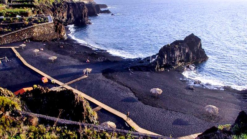 En la Palma de Gran Canarias, se encuentra Charco Verde un paraíso sin igual