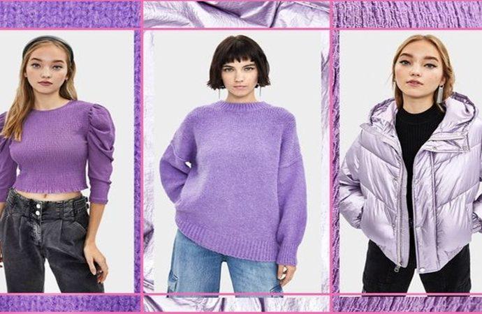 Un lindo atuendo en lila, morado o violeta en cualquier tono