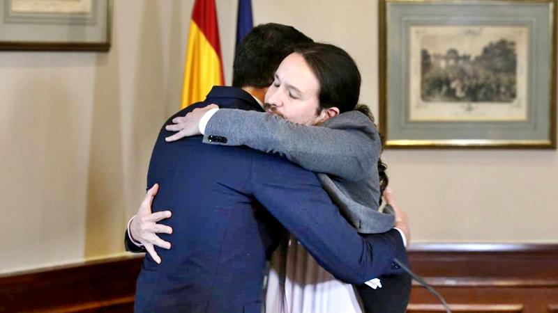 Han llegado por fin al acuerdo el PSOE, Unidas Podemos y Pedro Sánchez para gobernar a España