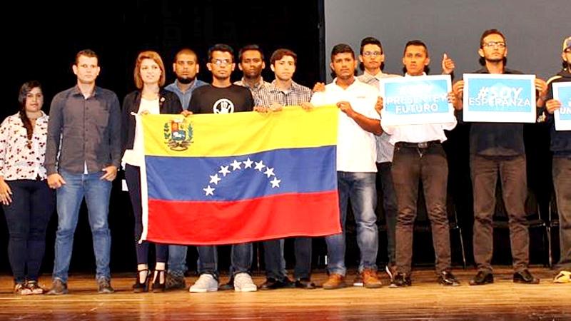 Los estudiantes universitarios de Venezuela siguen en la lucha