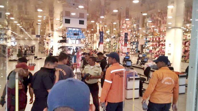 Traki Puerto la Cruz en pánico por bomba lacrimógena