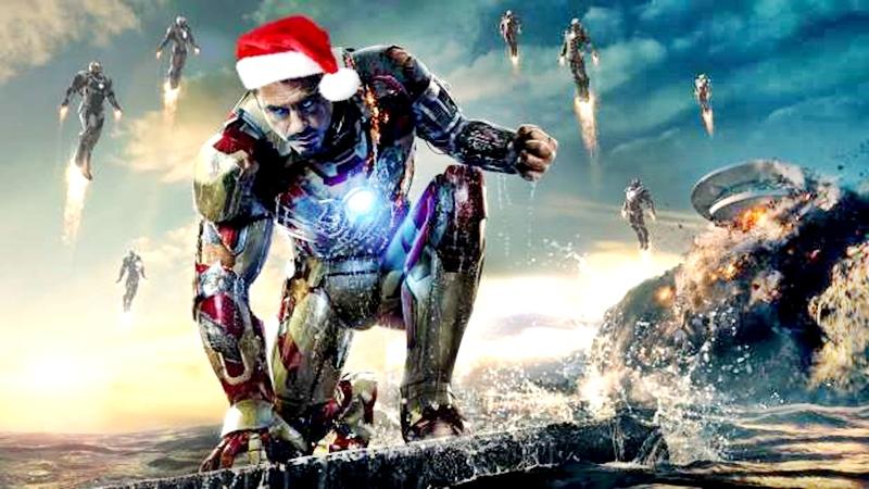 Iron man 3 se desarrollará en temporada de Navidad