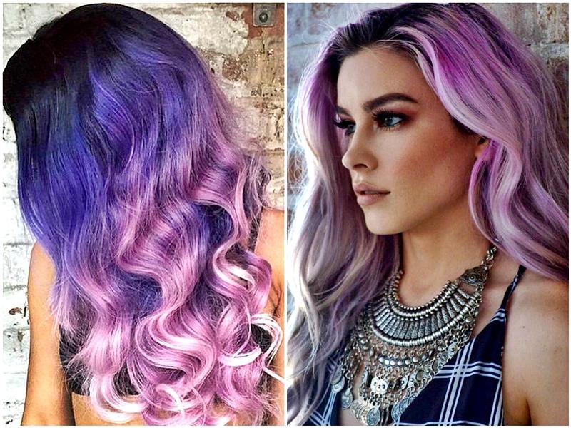 Un lila para el pelo también